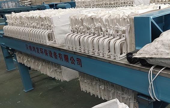 630型自动拉板厢式压滤机