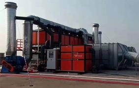喷烤漆废气处理工程