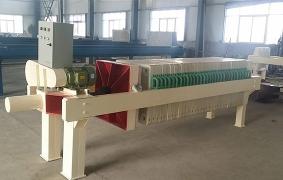 机械电动压紧板框压滤机
