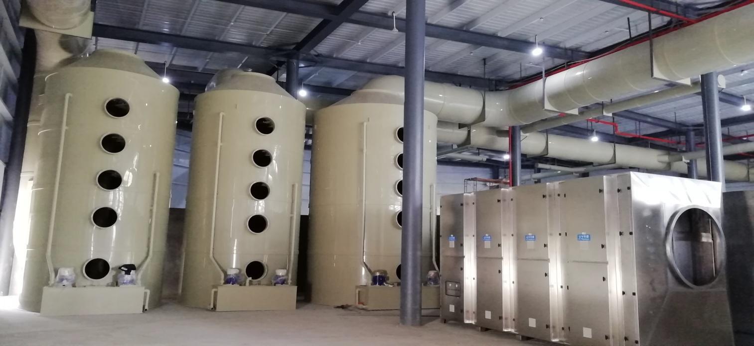 废气处理系统主要设备